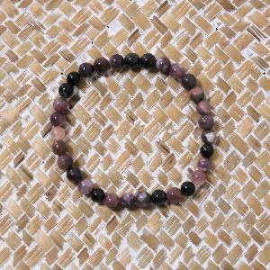 Bracelet Tourmaline multi 6mm
