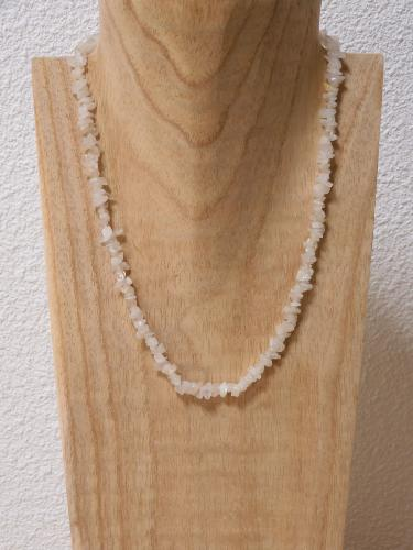 Collier Quartz Rose baroque