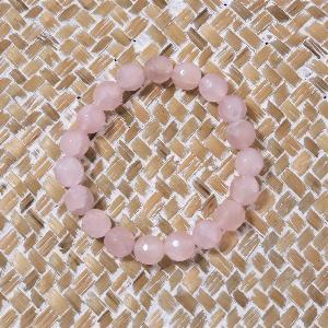 Bracelet Quartz Rose 10mm